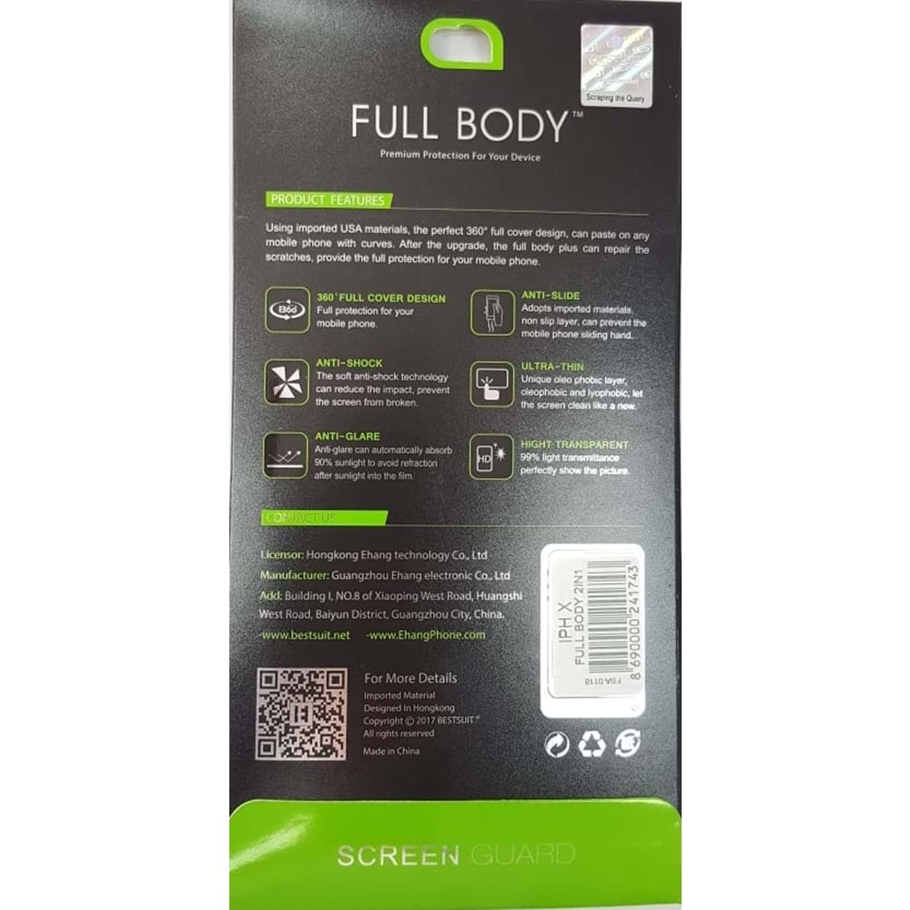 7G FULL BODY 2İN1
