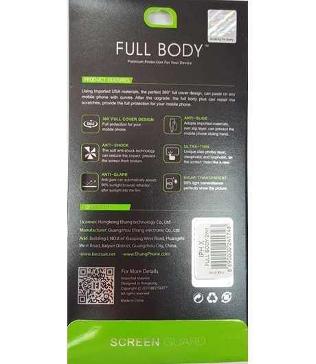 7G PLUS FULL BODY 2İN1